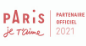 Logo paris je t'aime 2021
