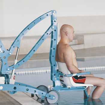 Location élevateur mobile pour piscine ÉcoPool - Pour pmr et handicapé