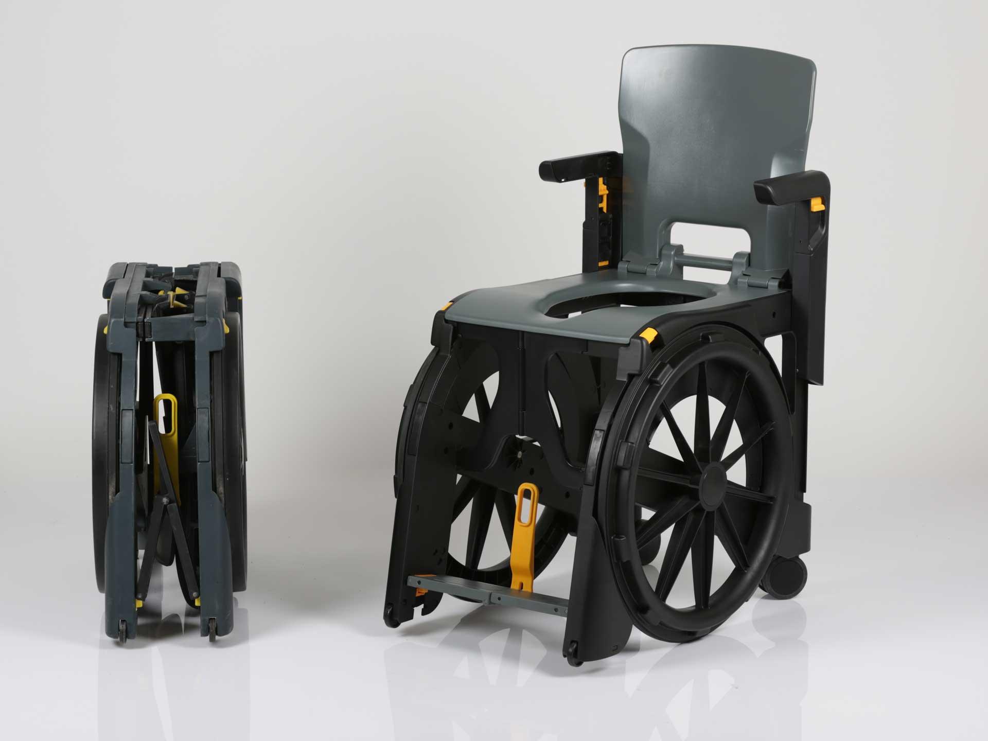 Location de fauteuil d'aisance en plastique pliant WhelAble