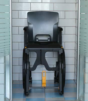 Location de fauteuil d'aisance pliant Wheelable pour pmr et personnes handicapées