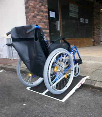 Location de rampe d'accès de voyage pour pmr et handicapé