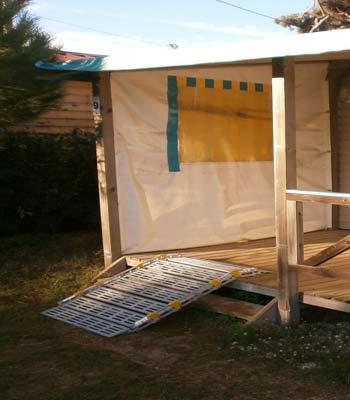 Location de rampe modulaire en aluminium pour pmr et personne handicapée