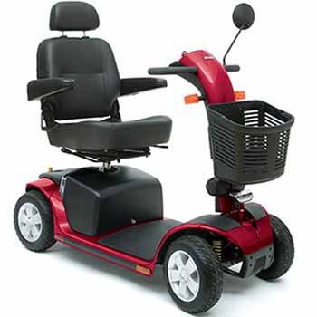 Louez votre scooter électrique hd - Fauteuil très large et grande capacité de charge 158 Kg