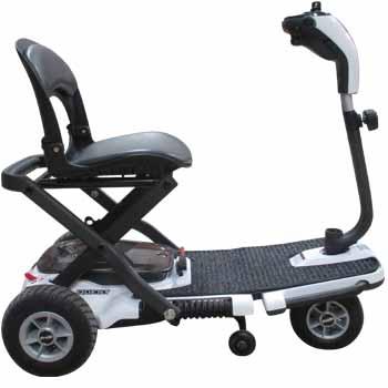 Location de scooter électrique pliable QUEST, pour pmr ou handicapé