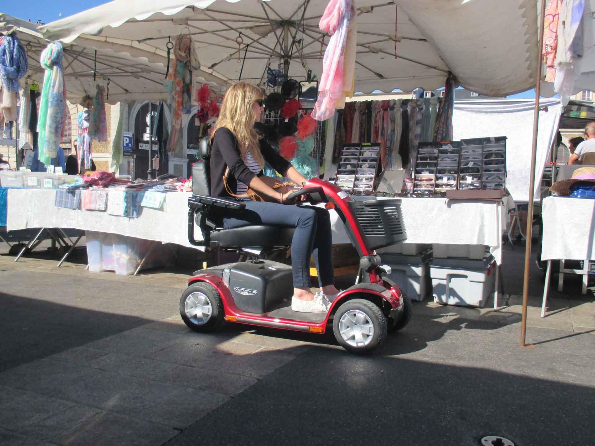 Location de scooter électrique pour pmr, idéal pour tourisme et visite