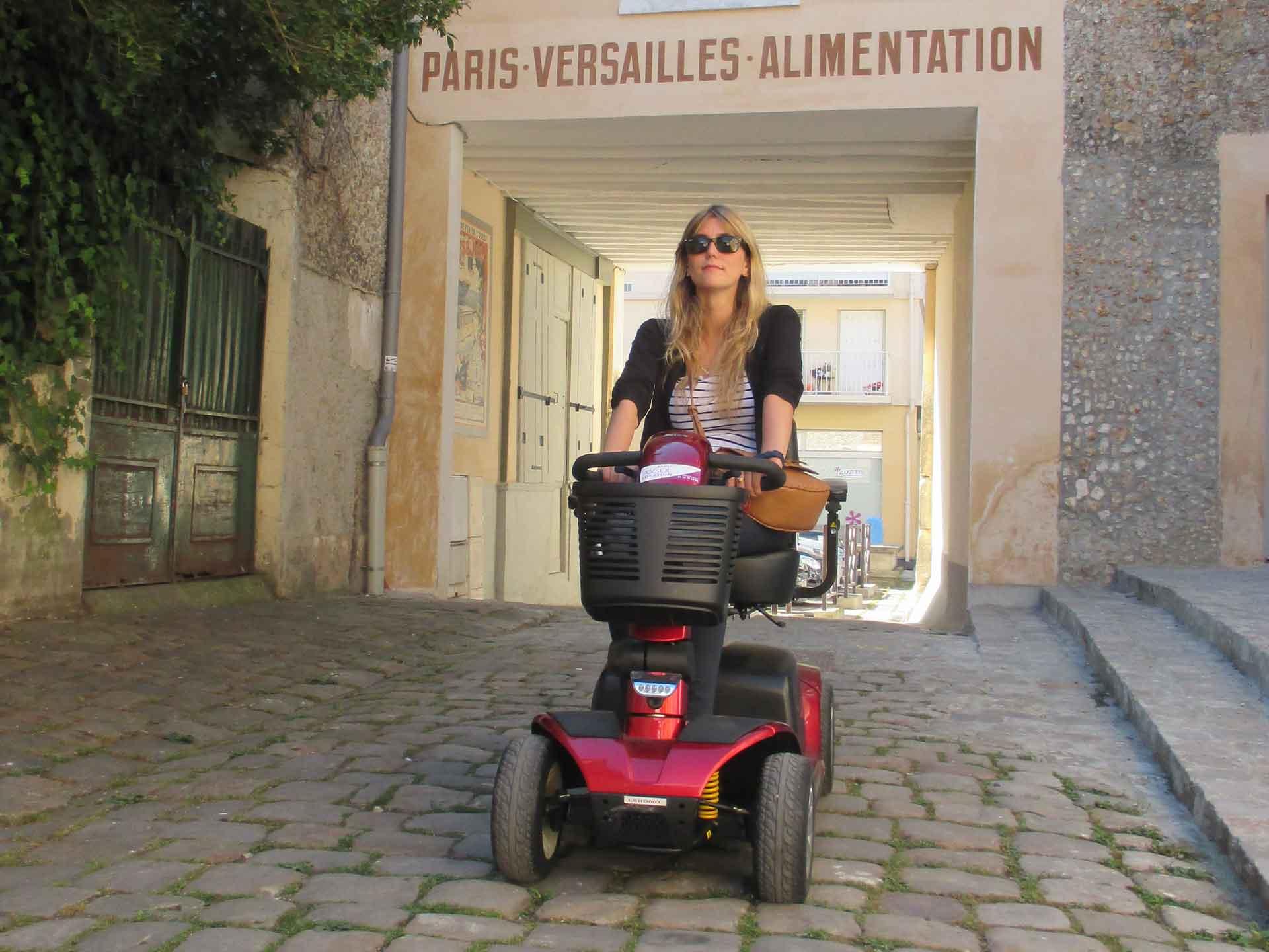 Louer un scooter électrique pour handicapé - Idéal pour tourisme et visite