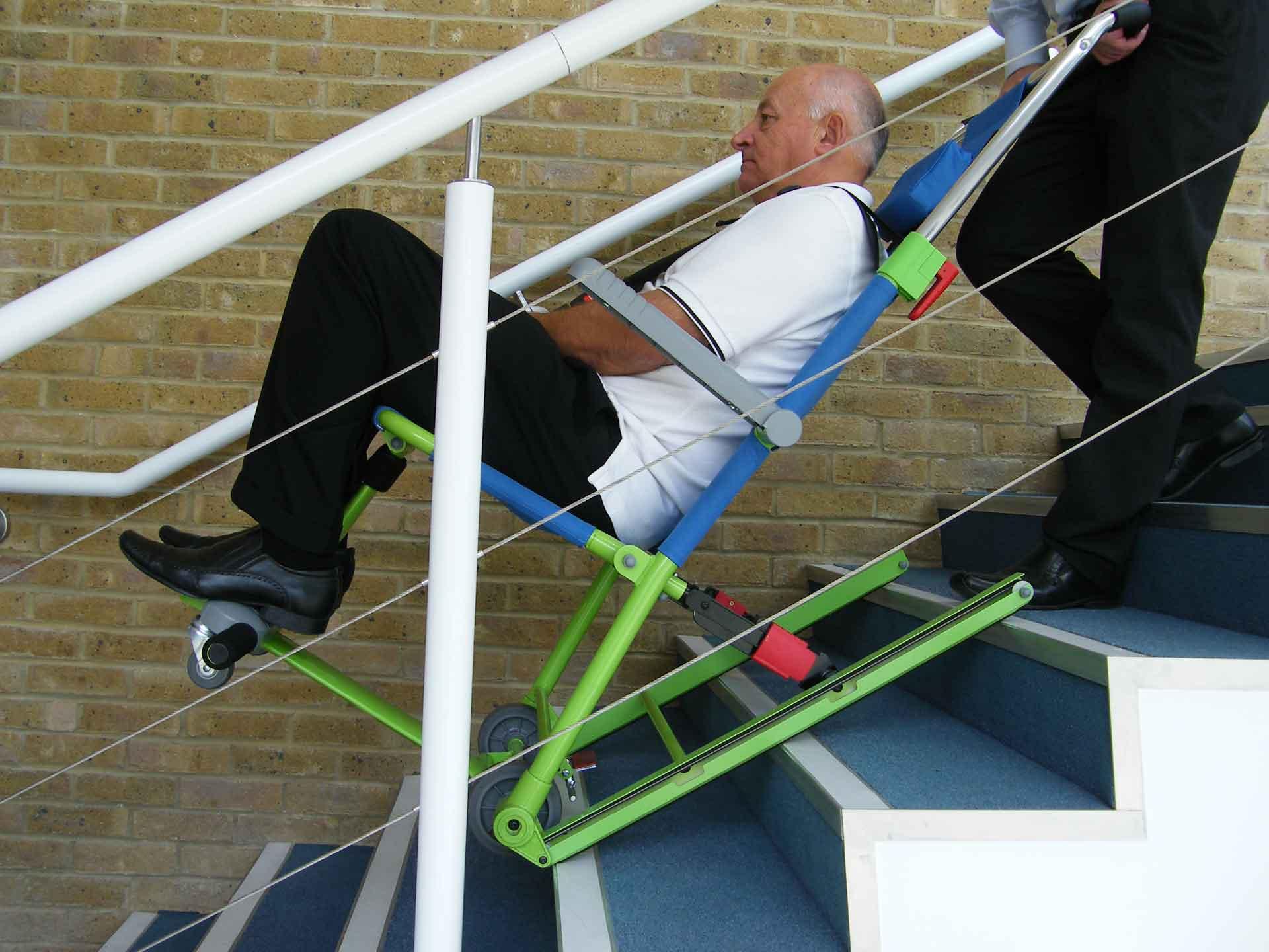 Louer une chaise d'évacuation pour pmr