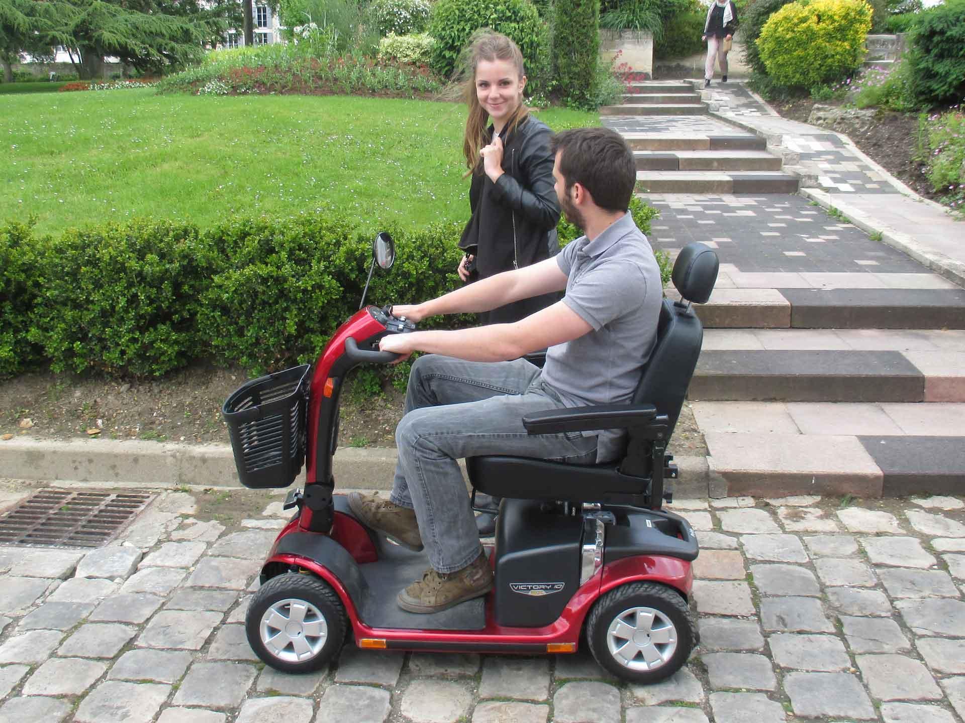Louez votre scooter électrique - tourisme et visite