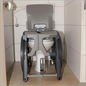 Location fauteuil plastique Wheelable