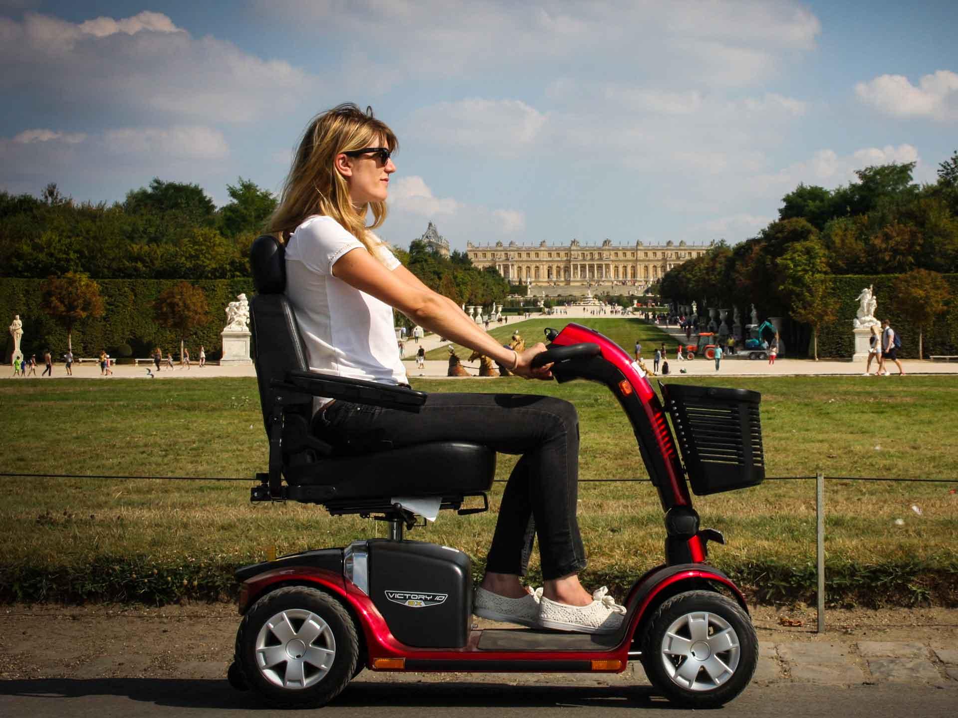Scooter électrique pour pmr, location pour tourisme et visite